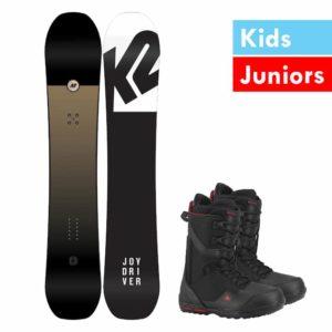 Kids-Junior Snowboard set complete